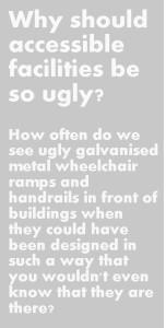 Wheelchair sidebar